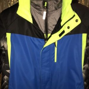 Boys 'ZeroXPosur' XL- 18/20 with a Jacket Insert